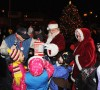 Santa, Mrs. Claus help Lansing light its tree