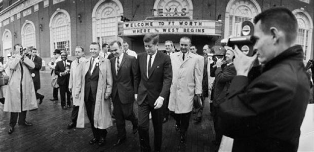 JFK: Mementos kept 50 years mark awful day