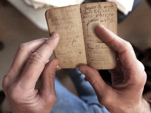 Century-old journal makes long trip home