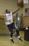 Seton's Christopher Seaton as practice begins at Seton Academy
