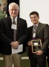 Hometown Hero Award recognizes prep athlete for his service