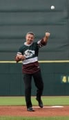 Savard a hit with RailCats fans