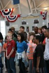 Deer Creek Christian School visits the Civil War exhibit