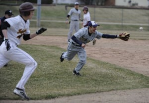 Noll thrives off wild Chesterton pitching in five-inning baseball rout