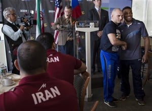 U.S., Russia and Iran work to save Olympic wrestling  