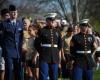 Beecher girls soccer honors U.S. military before game