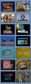 Vintage Chicago Local TV Graphics and Newscasts