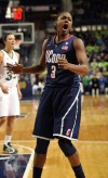 Notre Dame women push UConn to wire
