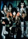 KISS kicking back, except on the stage