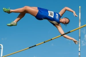 Pole vault trio lifts Lake Central to third straight track regional title