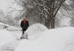 Region gets hit with more snow, thundersnow