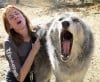 Veterans tame wolf-dogs at California rescue center