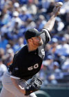 Danks struggles uncharacteristically vs. Royals
