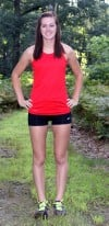 Kankakee Valley runner Brittany Stepp