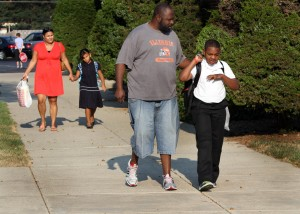 D.171 dads take part in Million Father March