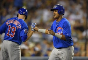 Cubs start road trip with victory
