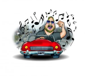 Road Rants: Top ten driving tunes, bumper stickers and police officers in conversation
