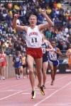 Portage grad, Arkansas runner Michael Taylor