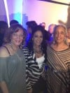 Singer Shelia E with sisters Debbey Thomas and Gilda Curry at 2012 Grammy Party