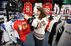 Blackhawks merchandise a hot commodity at local sports stores