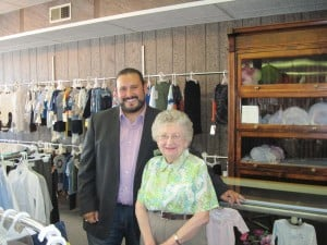 Chamber President makes time for local business
