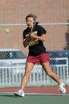 Chesterton No. 1 doubles player Jessica Lee