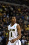 Michigan freshman and St. John native Glenn Robinson III 