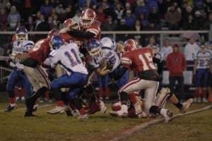 T.F. South football team falls to Marmion in a heartbreaker
