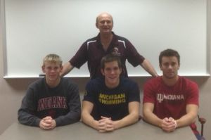 JIM HUNSLEY: College choices don't blur Chesterton swimmers' focus