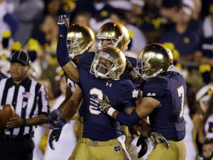 Less fanfare for end of Purdue-Notre Dame series