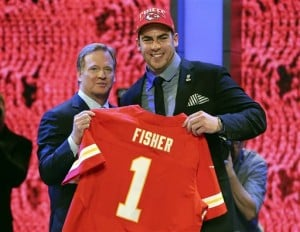 Bring on beef in draft, starting with OT Fisher