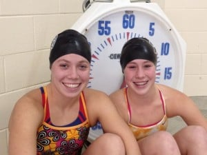 Marian's Kresal sisters headed to state swim meet