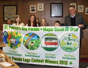 Parade logo winners named as Hub City prepares for St. Pat's Day