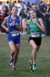 Lake Central's Shelby Carroll shooting for Top 25 in final race