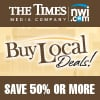 Buy Local Deals - The Times generic box