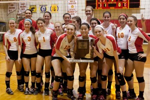 Andrean captures second straight volleyball regional title