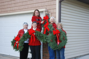 AAUW helps women go to college through wreath sales
