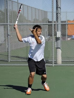 LaPorte's Varda thanks parents for tennis success