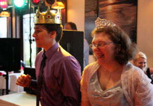 Special needs students treated to perfect prom