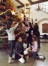 Youth group decorates Barker tree