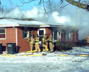 Fire damages duplex in Portage; resident overcome by smoke