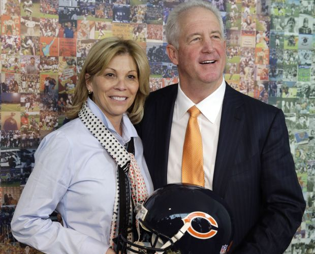John Fox with cool, beautiful, Wife Robin Fox