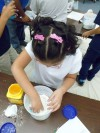 Ooey, gooey program at Chicago Heights library