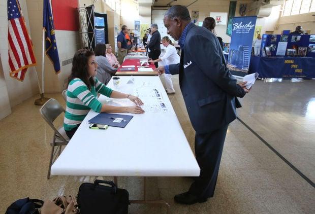 Vets, others seek opportunities at LaPorte job fair
