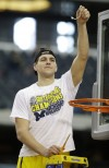 Mitch McGary holding net