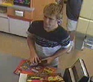 St. John police seeking public's help in identifying theft suspect