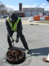 Hammond dealing with manhole cover thefts