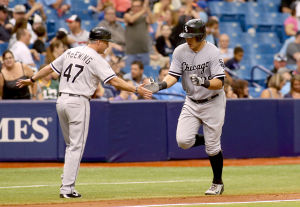 Garcia's two homers power Sox past Rays