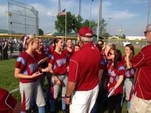 Yoways wills Hanover Central to softball regional championship