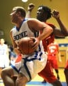 Boone Grove's Jake Clapp drives